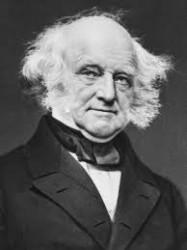 Former President Martin Van Buren (Photo Courtest of Library of Congress)