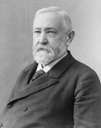 Benjamin Harrison (1896)-- 23rd President of the United States (Source: Library of Congress Prints and Photographs Div.)